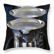 Carb Inlets Throw Pillow