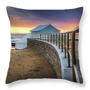 Carcavelosbeach - Portugal Throw Pillow