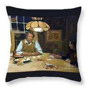 Card Game Throw Pillow