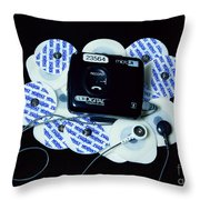 Cardiac Event Recorder Throw Pillow