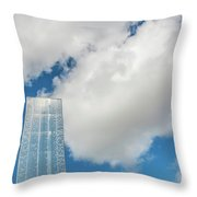 Cardiff Bay Water Tower Throw Pillow