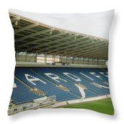 Cardiff - City Stadium - East Stand 1 - July 2010 Throw Pillow