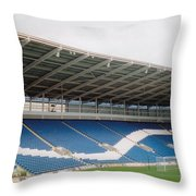 Cardiff - City Stadium - North Stand 1 - July 2010 Throw Pillow