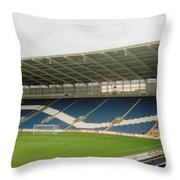 Cardiff - City Stadium - South Stand 1 - July 2010 Throw Pillow
