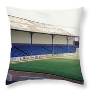 Cardiff - Ninian Park - North Stand 2 - August 1993 Throw Pillow