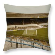 Cardiff - Ninian Park - West Stand 2 - 1969 Throw Pillow