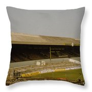 Cardiff - Ninian Park - West Stand 3 - 1969 Throw Pillow