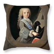 Cardinal-infante Luis Antonio De Bourbon And Farnese Throw Pillow