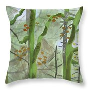 Cardwell Hill Forest Throw Pillow