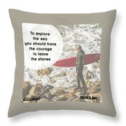 Career Consultants Throw Pillow