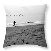Carefree Throw Pillow