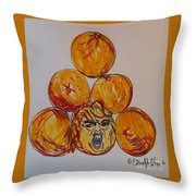 Careful Which You Pick Throw Pillow