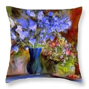 Caress Of Spring - Impressionism Throw Pillow