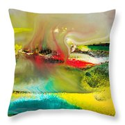 Caressed By Time Throw Pillow