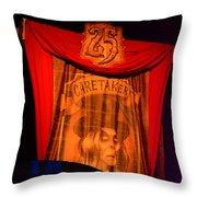 Caretaker Banner Throw Pillow