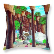 Caretaker Throw Pillow