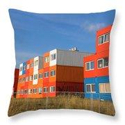 Cargo Homes Throw Pillow