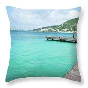 Caribbean Dream Throw Pillow