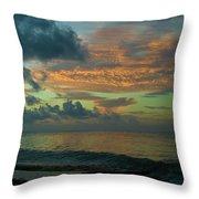 Caribbean Early Sunrise 2 Throw Pillow