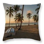 Caribbean Life Throw Pillow