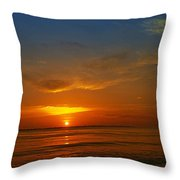 Caribbean Morning Throw Pillow