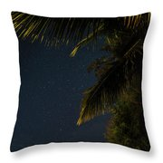 Caribbean Nights Anse Chastanet Throw Pillow