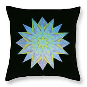 Caribbean Radiance Throw Pillow