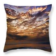 Caribbean Sunshine Throw Pillow