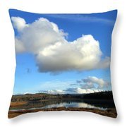 Cariboo Country Throw Pillow