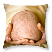 Caring Mother Throw Pillow