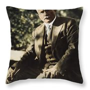 Carl G. Jung  Throw Pillow