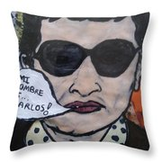 Carlos The Jackal Throw Pillow