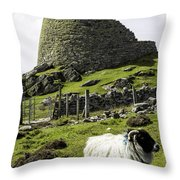 Carloway Broch Throw Pillow