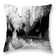 Carlsbad Cavern Walkway Throw Pillow