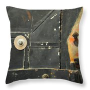 Carlton 10 - Firedoor Detail Throw Pillow