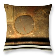 Carlton 15 - Square Circle Throw Pillow
