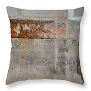 Carlton 16 Concrete Mortar And Rust Throw Pillow