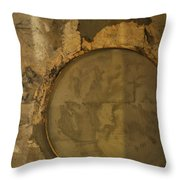 Carlton 3 - Abstract Concrete Throw Pillow