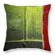 Carlton 6 - Firedoor Abstract Throw Pillow