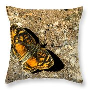 Carme Crescent Throw Pillow