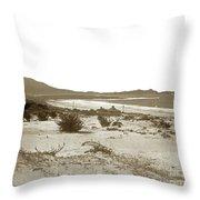 Carmel Beach, Carmel Point And Point Lobos Circa 1925 Throw Pillow