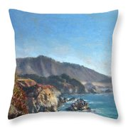 Carmel Coast 2 Throw Pillow