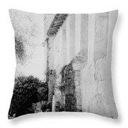 Carmel Mission Cemetery Throw Pillow