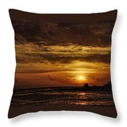 Carmel Sunset Throw Pillow