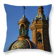 Carmen Chapel Seville Spain Throw Pillow