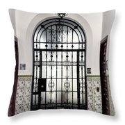 Carmona Door Throw Pillow
