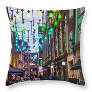 Carnaby Street London Throw Pillow