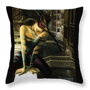 Carnavale Venezia Throw Pillow