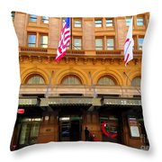 Carnegie Hall Throw Pillow
