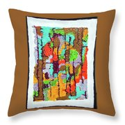 Carnevale Quilt Throw Pillow